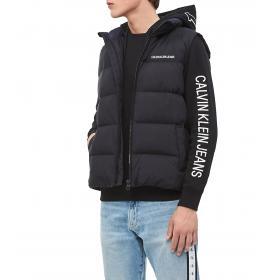 Felpa Calvin Klein Jeans con cappuccio con logo da uomo rif. J30J313256