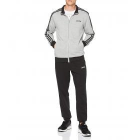 Tuta sportiva Adidas con felpa con zip e pantaloni da uomo rif. DV2444