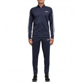 Tuta sportiva Adidas B2BAS 3S C felpa e pantaloni da uomo rif. DV2468