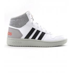 Scarpe Sneakers Adidas Junior Hoops Mid 2.0 K da ragazzo rif. EE8545