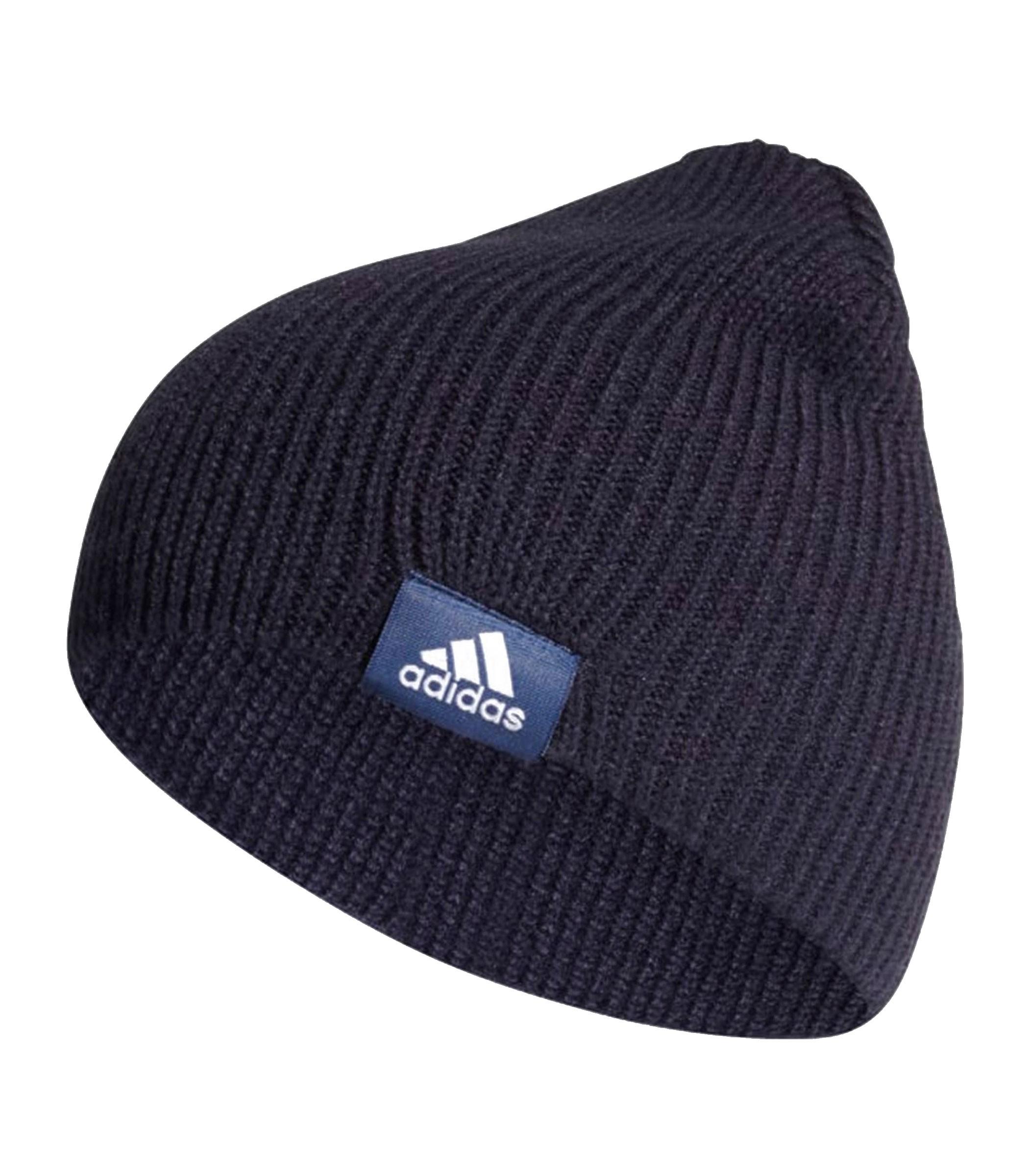 scarpe casual nuovo stile dettagli per Berretto cappello Adidas Perf Beanie unisex blu bianco rif. DZ8919