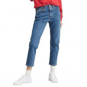 Jeans Levi's 501 Crop Jeans colorazione media da donna rif. 36200-0073
