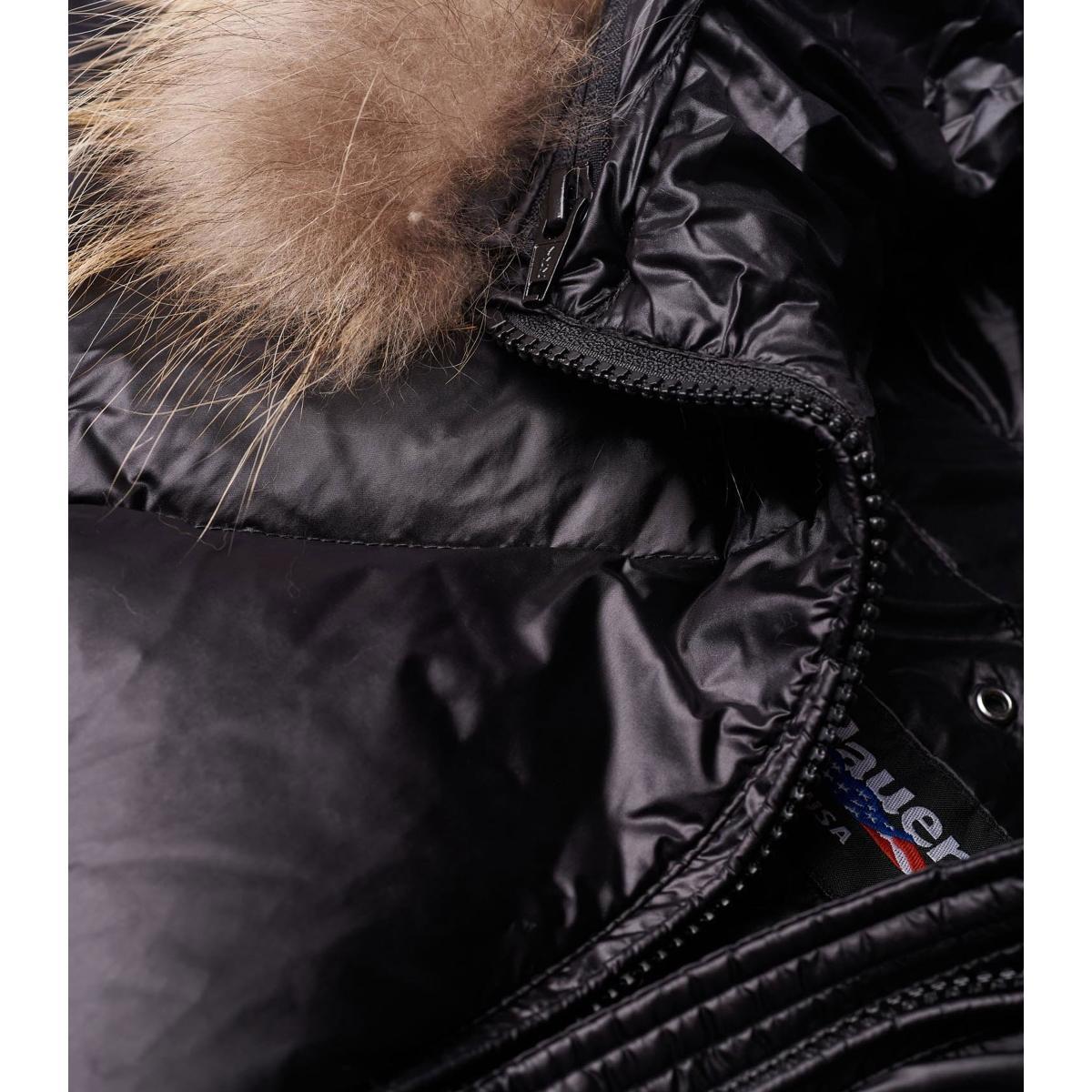 Piumino Blauer Usa Lungo in nylon cangiante Cunningham da donna 19WBLDK03004-005050