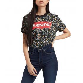 T-shirt Levi's Graphic Varsity Tee girocollo con stampa da donna rif. 69973