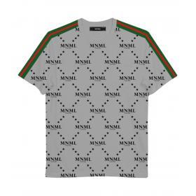 T-shirt Minimal Couture con stampa MNML rombi all over da uomo rif. U2183