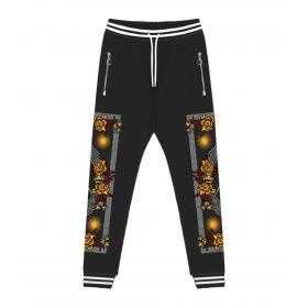 Pantaloni in tuta Minimal Couture con stampa Luxury Minimal da uomo rif. U2204