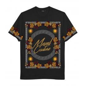 T-shirt Minimal Couture con stampa Luxury Minimal da uomo rif. U2205