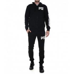 Tuta sportiva Puma Rebel Bold con felpa e pantaloni da uomo rif. 580491