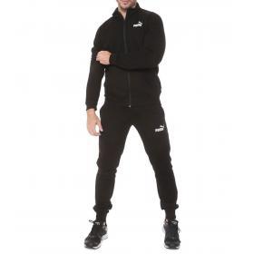 Tuta sportiva Puma Clean Sweat CL con logo da uomo rif. 854094