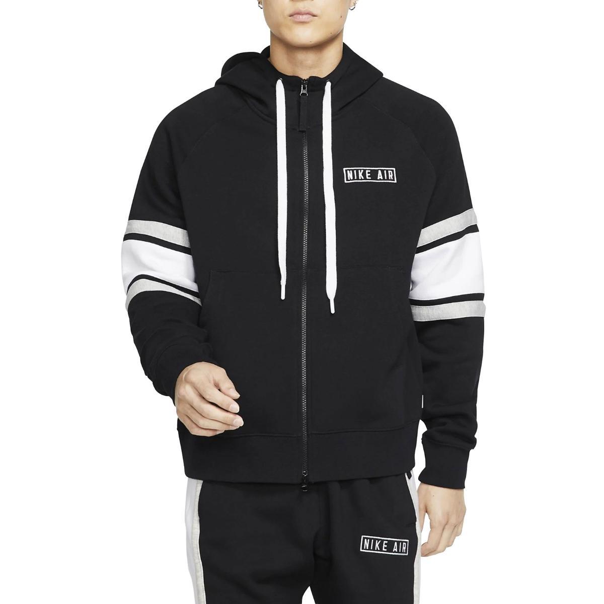 Felpa Nike Air in fleece con cappuccio e zip da uomo rif. BV5149