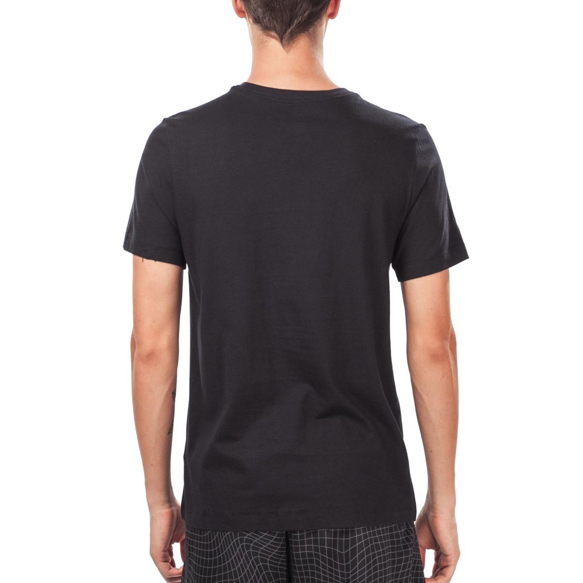 T-shirt Nike Air AF1 girocollo con stampa da uomo rif. BV7587
