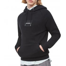 Felpa Calvin Klein Jeans con cappuccio e targhetta con logo da uomo rif. J30J313873