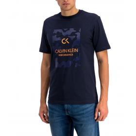 T-shirt Calvin Klein Performance con stampa con logo da uomo rif. 00GMF9K124