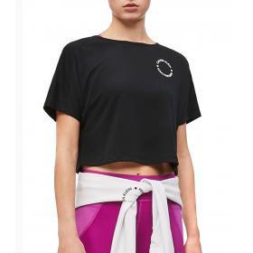 T-shirt Calvin Klein Performance corta aperta dietro da donna rif. 00GWF9K190