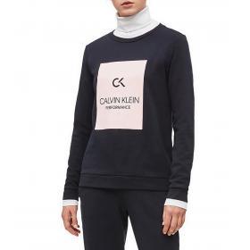 Felpa Calvin Klein Performance con stampa con logo da donna rif. 00GWS9W370
