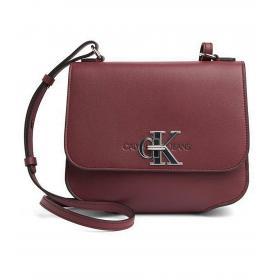 Borsa Calvin Klein Jeans a tracolla con aletta e monogramma da donna rif. K60K605786
