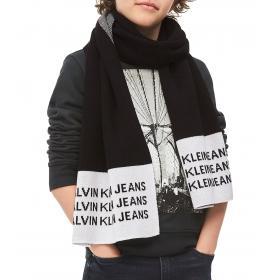 Sciarpa Calvin Klein Jeans in maglia a intarsio unisex rif. C20C200053