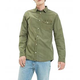 Camicia Tommy Jeans Oxford washed in cotone da uomo rif. DM0DM06561