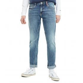 Jeans Tommy Jeans Scanton slim fit in denim da uomo rif. DM0DM06611