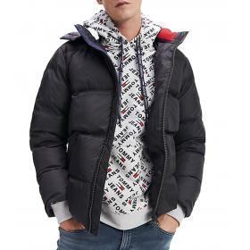 Piumino Giubbotto Tommy Jeans Essentials con cappuccio da uomo rif. DM0DM06902