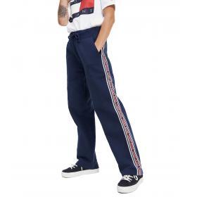 Pantaloni joggers Tommy Jeans in misto cotone biologico da donna rif. DW0DW07361