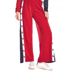 Pantaloni Tommy Sport a campana con nastro bandierine da donna rif. S10S100175