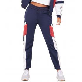 Pantaloni Joggers Tommy Sport felpati color block da donna rif. S10S100253