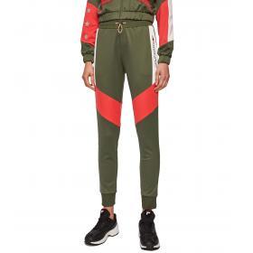 Pantaloni Joggers Tommy Sport felpati color block da donna rif. S10S100254