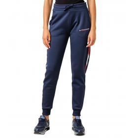 Pantaloni Joggers Tommy Sport felpati con nastro iconico da donna rif. S10S100284