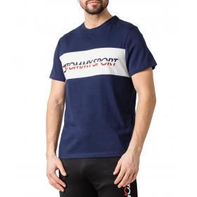 T-shirt Tommy Sport con stampa con logo sul petto da uomo rif. S20S200082
