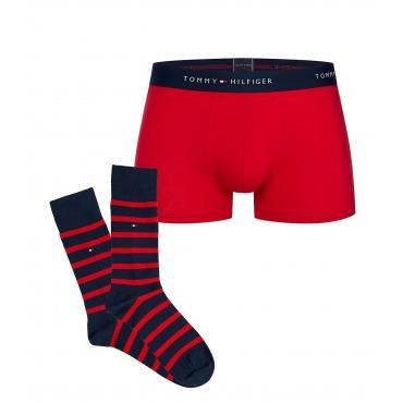 Set intimo Tommy Hilfiger boxer e calzini da uomo rif. UM0UM01410