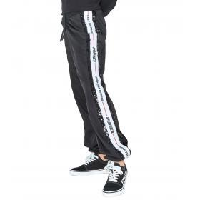 Pantaloni Pyrex in nylon con inserto in paillettes e banda da donna rif. 19IPC40647