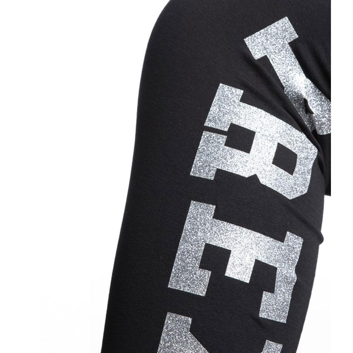 Leggings Pyrex con stampa sul lato esterno gamba da donna rif. 19IPB34239