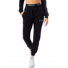 Pantaloni Pyrex in tuta con elastico con logo in vita da donna rif. 19IPB40415