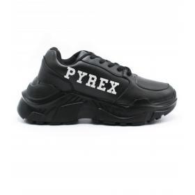 Scarpe Sneakers Pyrex Chunky in PU con stampa con logo da donna rif. PY20176