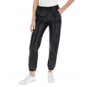 Pantaloni Pyrex in tuta con logo tono su tono da donna rif. 19IPC40592