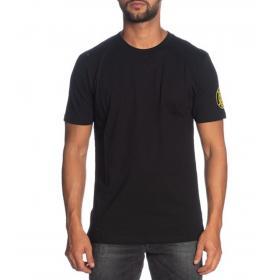 T-shirt Pyrex girocollo con stampa sul retro e stemma logo da uomo rif. 19IPB40362