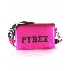 Pochette Pyrex in ecopelle laminata con stampa da donna rif. PY20240