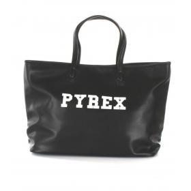 Borsa Pyrex in ecopelle con stampa e manici da donna rif. PY20241