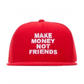 Cappello Make Money Not Friends da baseball con logo unisex rif. MA171005
