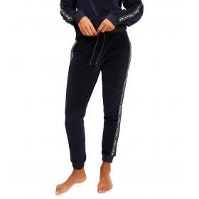 Pantaloni Joggers Tommy Hilfiger in tuta di velluto da donna rif. UW0UW02042