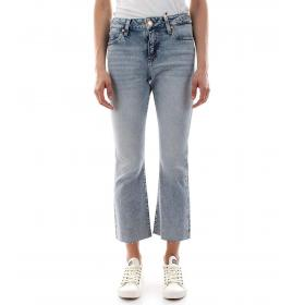 Jeans Tommy Hilfiger Jeans cropped a campana da donna rif. DW0DW06854