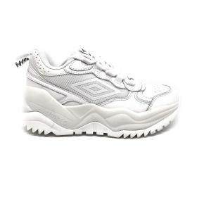 Scarpe Sneakers Umbro sportive in pelle da donna rif. U203006B-W