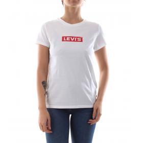 T-shirt Levi's The Perfect Tee con stampa da donna rif. 17369