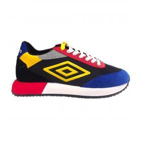 Scarpe Sneakers Umbro in pelle e camoscio multicolore da uomo rif. U203025M-M
