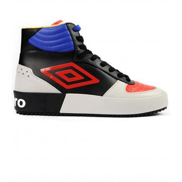 Scarpe Sneakers Umbro Retro Basket in pelle multicolore da uomo rif. U203031M-M
