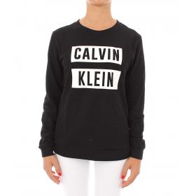 Felpa Calvin Klein Performance girocollo con stampa da donna rif. 00GWT9W385
