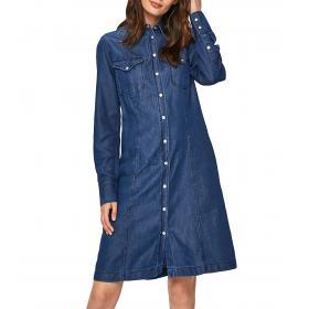 Vestitino Abito Calvin Klein Jeans in denim da donna rif. J20J211577