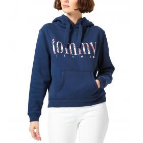 Felpa Tommy Hilfiger Jeans con stampa floreale da donna rif. DW0DW06783