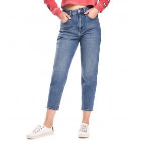 Jeans Tommy Hilfiger Jeans High Rise Tapered TJ a vita alta da donna rif. DW0DW06855